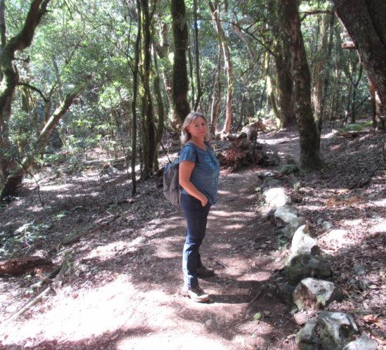 Sabine Schwarze Wandern auf La Gomera